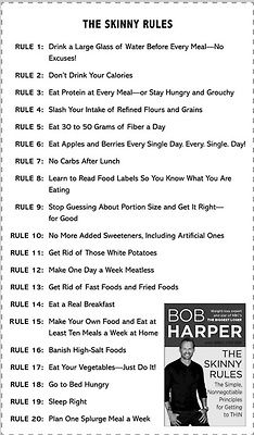 The Skinny Rules - Bob Harper