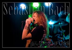 Sebastian Bach taken by my friend Erich Fuss 2013 @ Peabodys Conecrt Club which was torn down in December of 2013