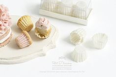 Set of 12 Cupcake Liners in a box-Single by PetitDlicious on Etsy                                                                                                                                                                                 More