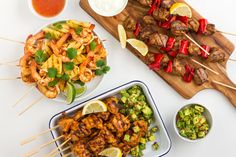 Delicious grilled skewers… times three! I know my BBG girls love to see healthy recipes and to read tips for eating healthy at a barbeque, or when you have friends over. So here's a few healthy recipe ideas you can use for your next get-together!  What better way to entertain your family and friends than serving delicious meals?Prawn & Pineapple Skewers  Ingredients (makes 4 serves): 125ml light coconut milk ½ tsp paprika ¼ tsp cayenne pepper 2 limes, juiced ½ orange, juiced 1 tbsp c...