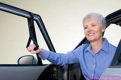 "Stander - 2080 - Car Caddie Universal Fit, 7"" - 16"" Adjustable Strap Length, 5"" W Handle"