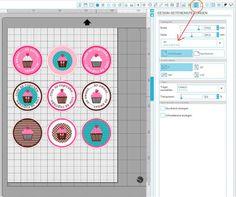 Plotter-ABC - D wie drucken nd schneiden ; Print&Cut