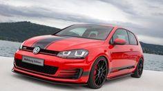 Volkswagen Golf GTI Wolfsburg Edition Youngster 5000 worthersee rood 2014 01