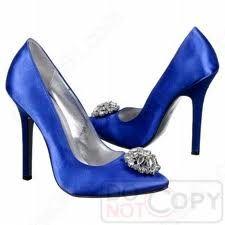 <3 blue shoes!!