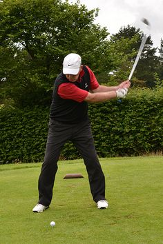 The 10 Funniest Quotes About Golf While playing golf today I hit two good balls. I stepped on a rake.  Henry Youngman - See more at: http://mirthinablog.com/2015/05/29/the-10-funniest-quotes-about-golf/#sthash.dYzFVrRP.dpuf