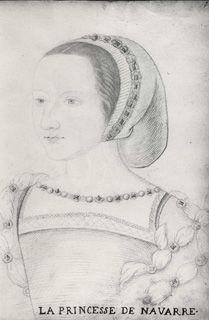 Jean, Follower of, c.1564 Clouet (16th Century), Jeanne d'Albret