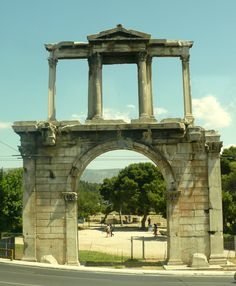 Hadrian's Arch, Athens Greece  (Photo by Judith B. Trimarchi starranchnm.com)