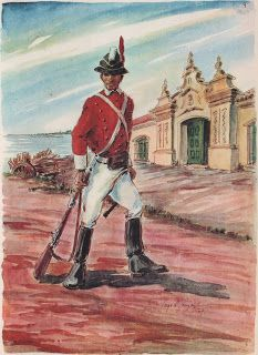 Miniaturas militares de la historia argentina: Invasiones Inglesas