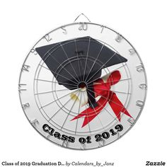 Class of 2019 Graduation Day Dartboard by Janz - college graduation gift idea cyo custom customize personalize special College Graduation Gifts, High School Graduation, Custom Dart Board, Graduation Balloons, Class Of 2019, Graduation Pictures, Getting To Know You, Shop Class, Beautiful Day