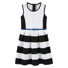 Knit Works Belted Skater Dress - Girls 7-16  found at @JCPenney