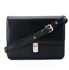 Black Vintage Cross Body Bag - Sheinside.com