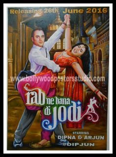 customized themd on bollywood posters card rab ne bana di jodi Bollywood Posters, Bollywood Cinema, Indian Bollywood, Wedding Cards, Wedding Events, Best Bollywood Movies, Cinema Posters, Movie Posters, 40th Wedding Anniversary