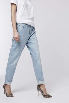 Photo 2 of MOTO Premium Selvedge Straight Leg Jeans