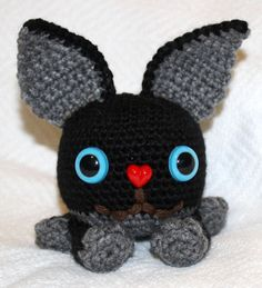 Original Amigurumi Crochet Critter by SeaKnightsCraft on Etsy
