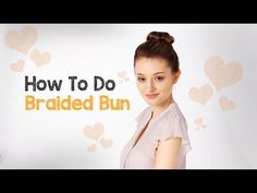 The braided bun hairstyle is a classic updo comprised of two popular looks: the bun and the single braid. This elegant style is appropriate for all occasions, whether for a wedding or just a day of relaxing at home  #BraidedBun #DunedinFL  http://totalimagehairdesigns.com/how-to-braided-bun