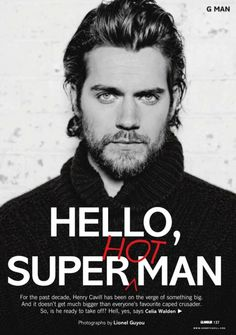 Henry Cavill is Superman.  One word:  Wow.