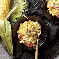 Very slow recipe - but that is expected for risotto. i paired this with steamed crab legs. it was awesome. Creamy Corn Risotto   MyRecipes.com