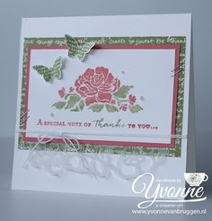 ...... Yvonne Stampin '& Scrapping .....: Floral Boutique