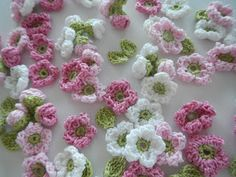 @ Apple Blossom Dreams:Link to free pattern for Crochet Apple Blossoms: http://cache.lionbrand.com/faq/486.html?www=1==
