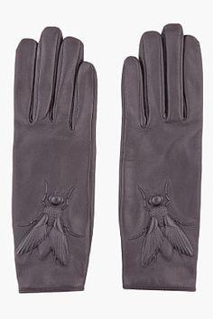 What Would Khaleesi Wear?Qartheen beetle leather gloves