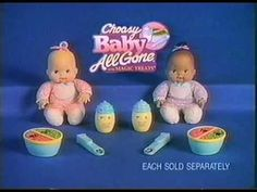 I wanted this baby so badly when I was little! They were so popular, Toys R Us only had the African American dolls left. You better believe I got one anyway.And i loved her! Lol ah the memories 90s Toys, Toys R Us, Baby Alive Dolls, Baby Dolls, Best Memories, Childhood Memories, African American Dolls, Toy Boxes, Vintage Toys