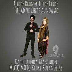 76 Best Punjabi Caption Images Punjabi Captions Hindi Quotes