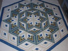 Beautiful quilt designed & made by Dunster from the Quilting Board.  One day I will get brave enough to try to make one.