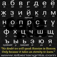 Russian Alphabet on CafePress.com