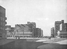 Jan van Galenstraat kruising Hoofdweg, 1927