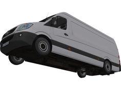 Mercedes-Benz Sprinter 313 CDI 3D Model