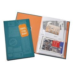 Look what I found at UncommonGoods: travel stub diary... for $12 #uncommongoods