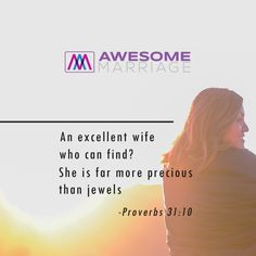 The greatest favor a man can ever receive is not his wealth, his career or his status. Nothing compares to a God-sent wife.