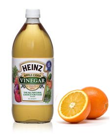 Soak orange peels in ACV for a hair rinse! It leaves your hair smooth, strong and shiny :-)