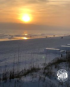 The end of a day is the start of an evening. Emerald Blue, Fort Walton Beach, White Sand Beach, Around The Worlds, David, Sunset, Photo And Video, Water, Outdoor