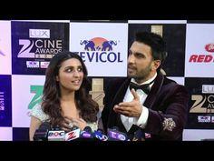 Ranveer Singh AMAZED by Parineeti Chopra's singing   ZEE CINE AWARDS 2016.