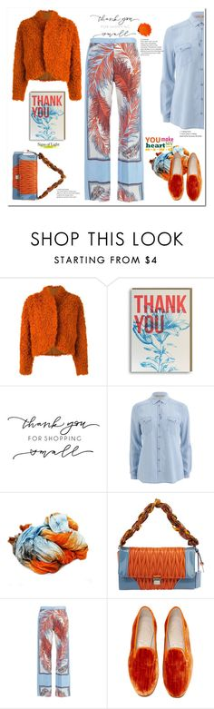 """thank you my friends 7000+"" by katymill ❤ liked on Polyvore featuring Kenzo, BOSS Orange, Miu Miu and Stubbs & Wootton"