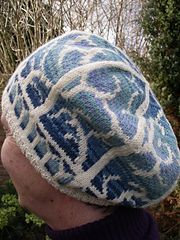 Winterthorn hat by Rebecca Strickland