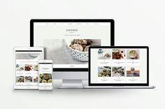 Réactif de thème Wordpress Kindred Food Blog par StationSeven