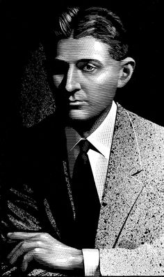 AUTHOR, AUTHOR...   Nook lock screen portraits by mark summers. proust.