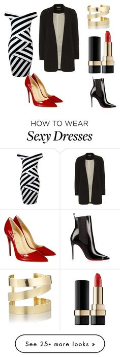 """""""Untitled #1"""" by ekaterina-shevchuk on Polyvore featuring Dorothy Perkins, Christian Louboutin, Dolce&Gabbana and Étoile Isabel Marant"""