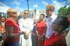Prince Harry visit to the Caribbean - 01 Dec 2016  Rihanna and Prince Harry attend the 'Man Aware' event held by the Barbados National HIV/AIDS Commission  1 Dec 2016