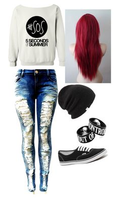"""""""My first polyvore outfit"""" by lindseytenison ❤ liked on Polyvore featuring Vans and Coal"""