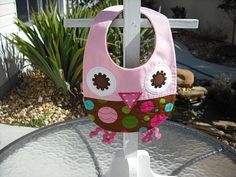 Hey, I found this really awesome Etsy listing at http://www.etsy.com/listing/122458416/girl-owl-cotton-bib-sized-for-newborn-to