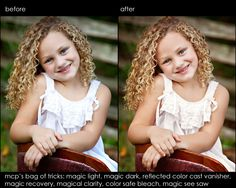 NEW Photoshop Elements Retouching Actions: Fix Skin, Sky, Color, Exposure, and More