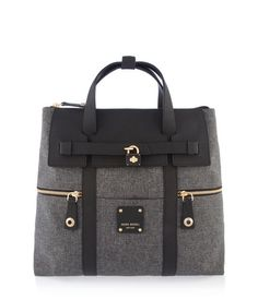 Jetsetter Canvas Backpack for Women | Henri Bendel