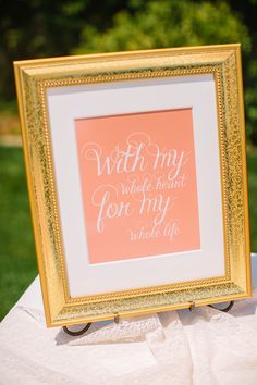 gift table sign ideas http://www.weddingchicks.com/2013/09/09/backyard-bridal-shower/