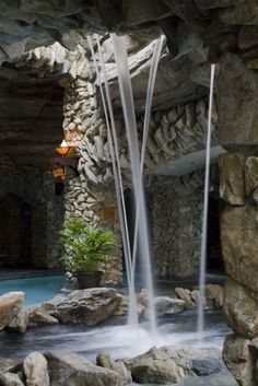 One of the hot tubs ar the Grove Park Inn Spa  Cant wait to sit in this with my girl!!!!!!!!!!