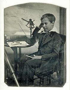 Truman Henry Safford - photo taken @ age 9 or 10 in 1845 - child prodigy in mathematics. He began his career as an astronomer in 1854 after graduating from Harvard. Harvard College, Harvard University, Science Boards, Child Prodigy, Old Pictures, Vintage Children, Thought Provoking, Vermont, History