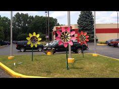 WindworkerStudio makes kinetic graden art called Windflowers. See more at www.WindworkerStudio.com