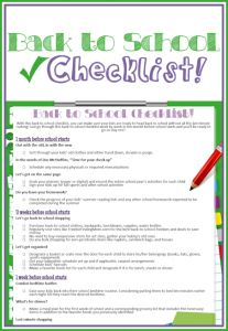 Love this Back to School Checklist from FreebieFindingMom.Com! #kidstuff #backtoschool